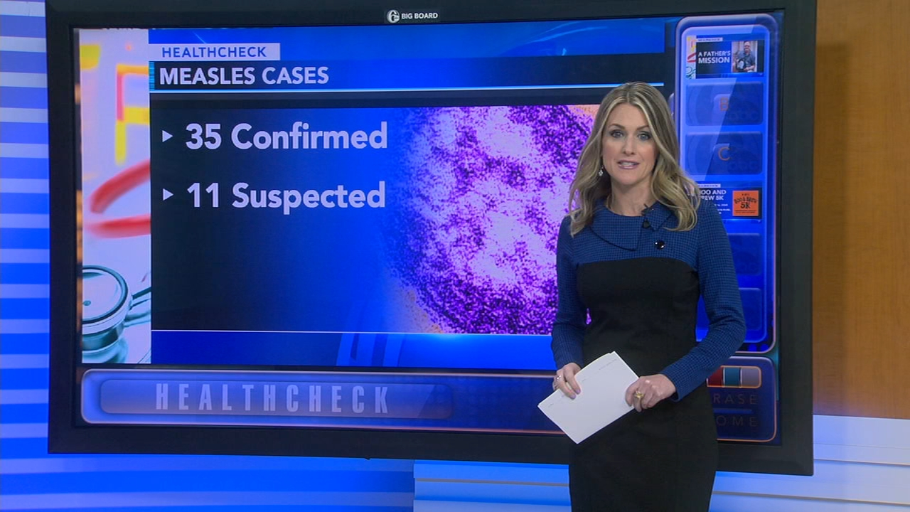 Measles outbreak near Portland, Oregon, sickens 35 - Ali Gorman reports during Action News at 5pm on January 28, 2019.