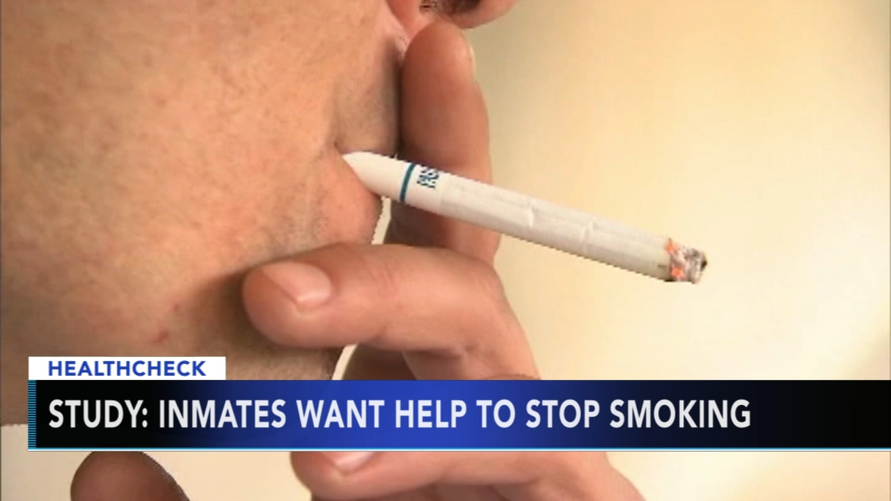 Study: Prison inmates want help to stop smoking - Ali Gorman reports during Action News at 5pm on January 28, 2019.