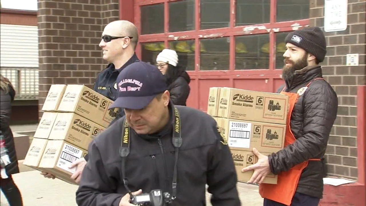 Operation 6abc Save a Life campaign kick-off in NE Philadelphia. Karen Rogers reports during Action News at 12 p.m. on January 29, 2019.