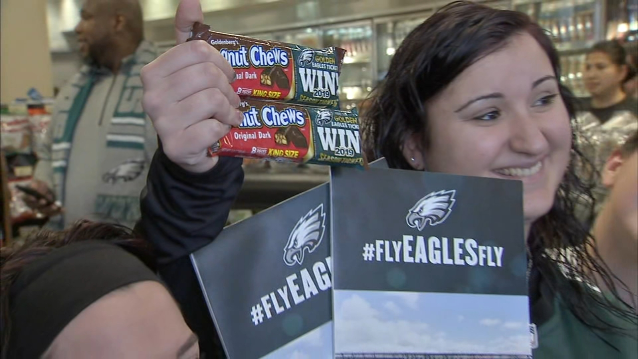 Fan Finds Golden Ticket Wins Eagles Season Tickets
