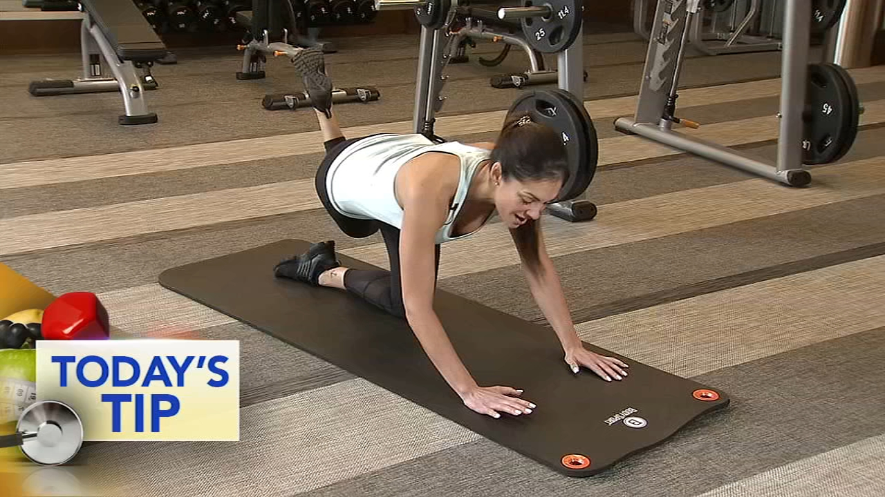Shoshana shows you how to shift your weight to work your core.