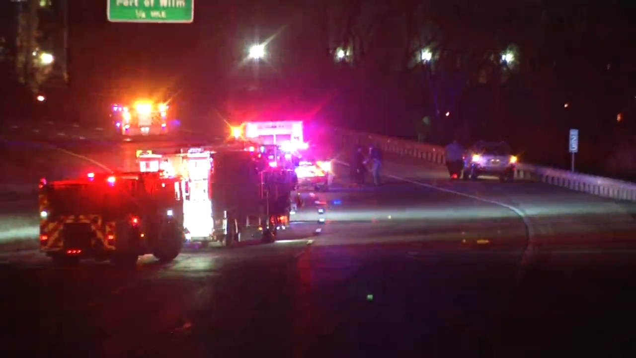 Pedestrian struck on I-495 in Wilmington. Tamala Edwards reports during Action News Mornings on February 1, 2019.