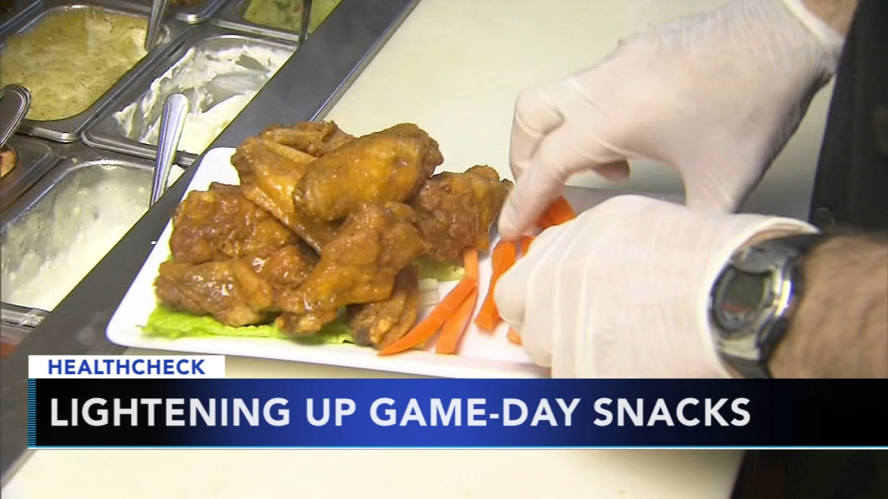 Save some calories with these recipes for guilt-free Super Bowl snacks - Monica Malpass reports during Action News at 5pm on February 1, 2019.