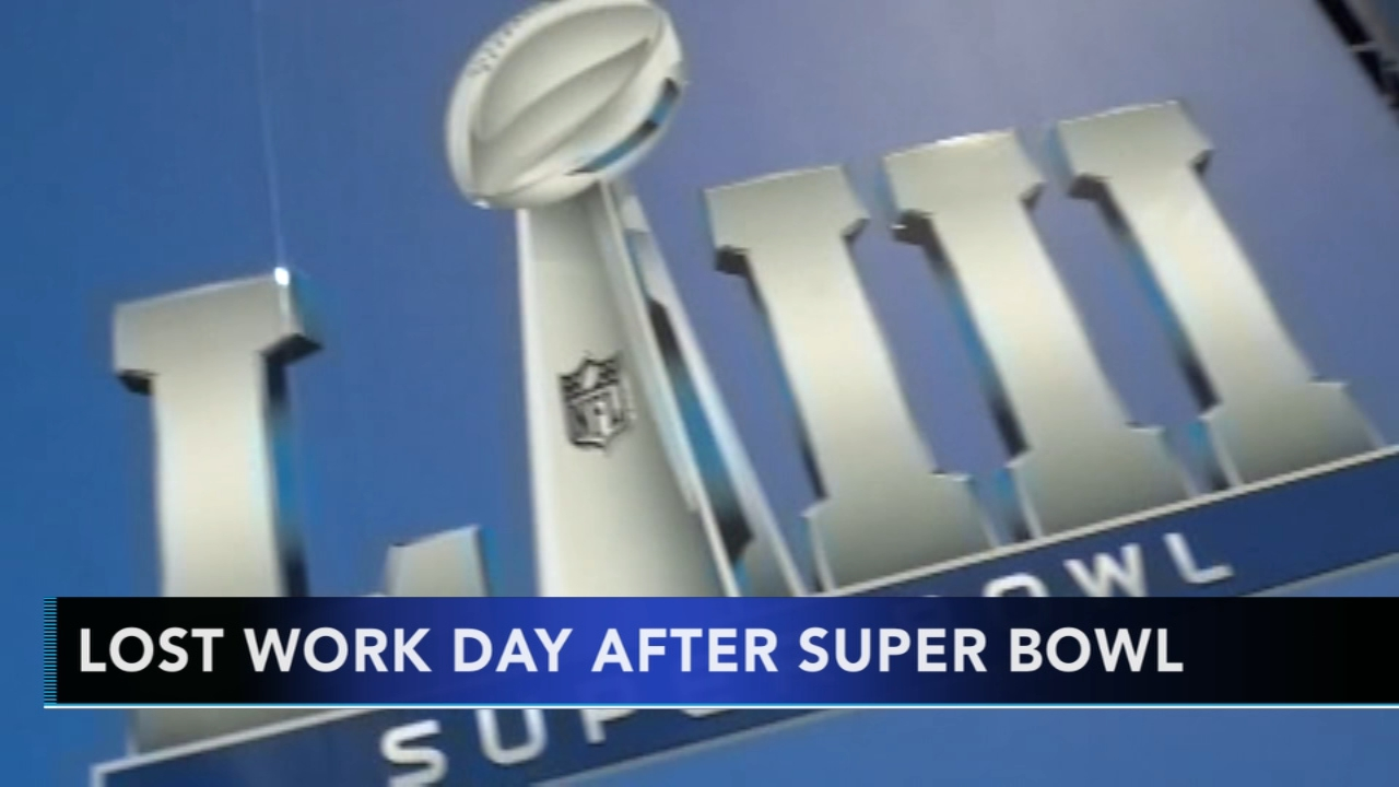 Super Bowl Monday could cost companies half a billion in lost work productivity - Rick Williams reported during Action News at noon on February 1, 2019.