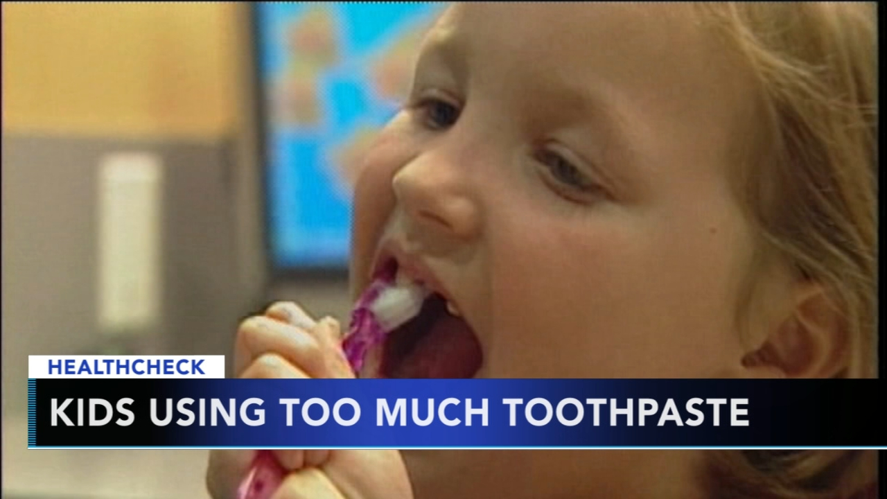 CDC: Kids using too much toothpaste. Tamala Edwards reports during Action News Mornings on February 1, 2019.