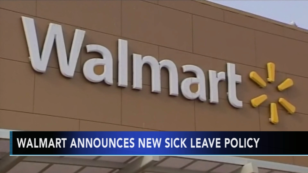 Walmart announces new sick leave policy - Rick Williams reports during Action News at noon on February 1, 2019.