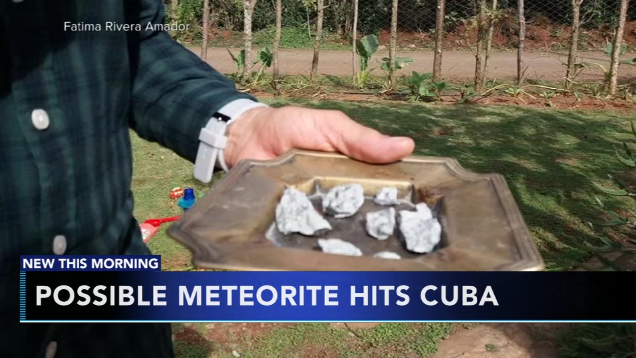 Meteorite strikes in town in western Cuba. Gray Hall reports during Action News at 5 a.m. on February 2, 2019.