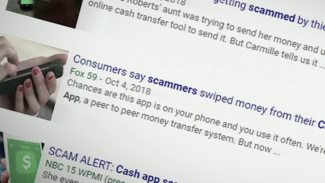 Beware of phishing scams for money transfer apps: Chad Pradelli reports on Action News at 11 p.m., February 4, 2019