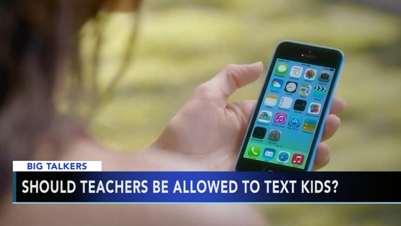Heres a story thats asking this big question: Should teachers and students text each other?