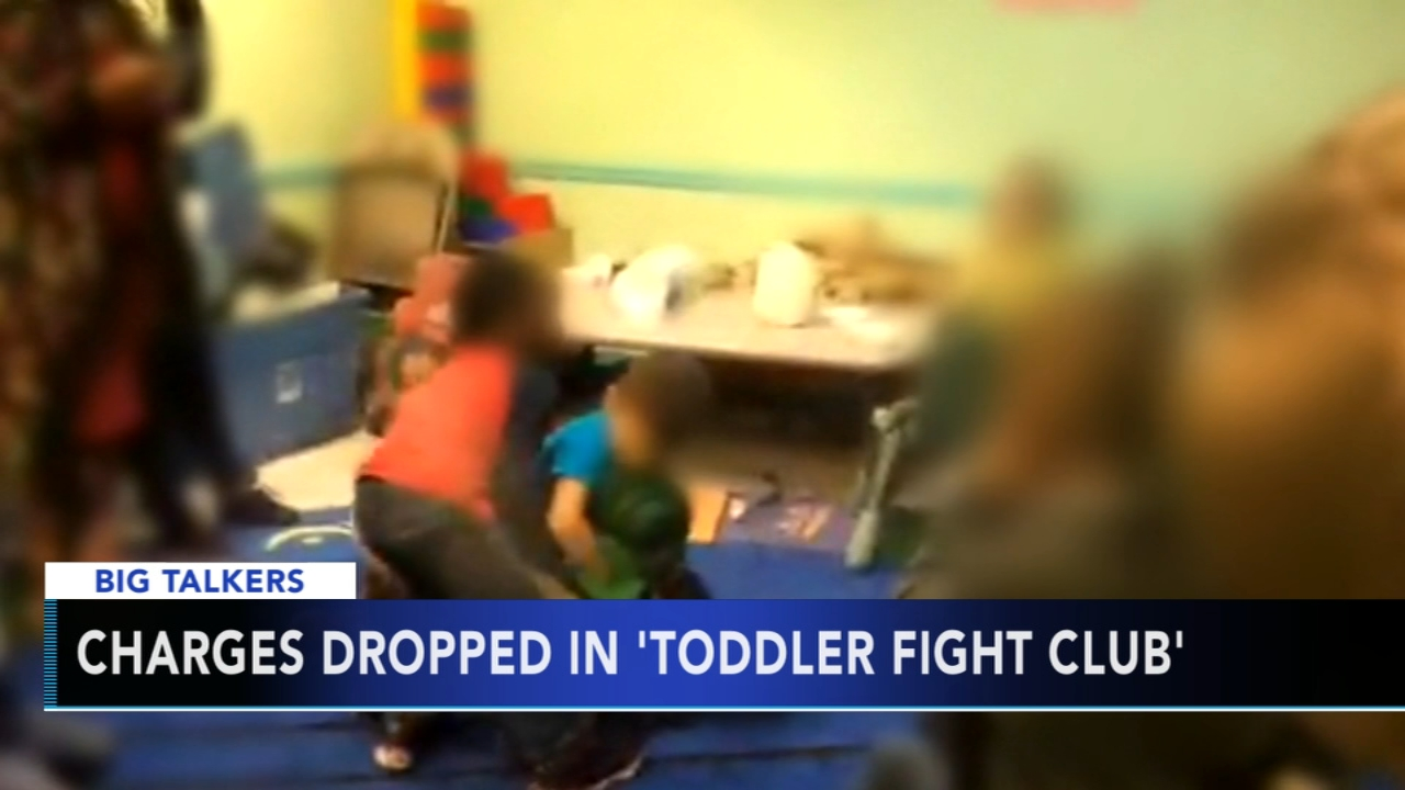 Charges dropped for alleged fight club at day care center. Alicia Vitarelli reports during Action News at 4 p.m. on February 6, 2019.