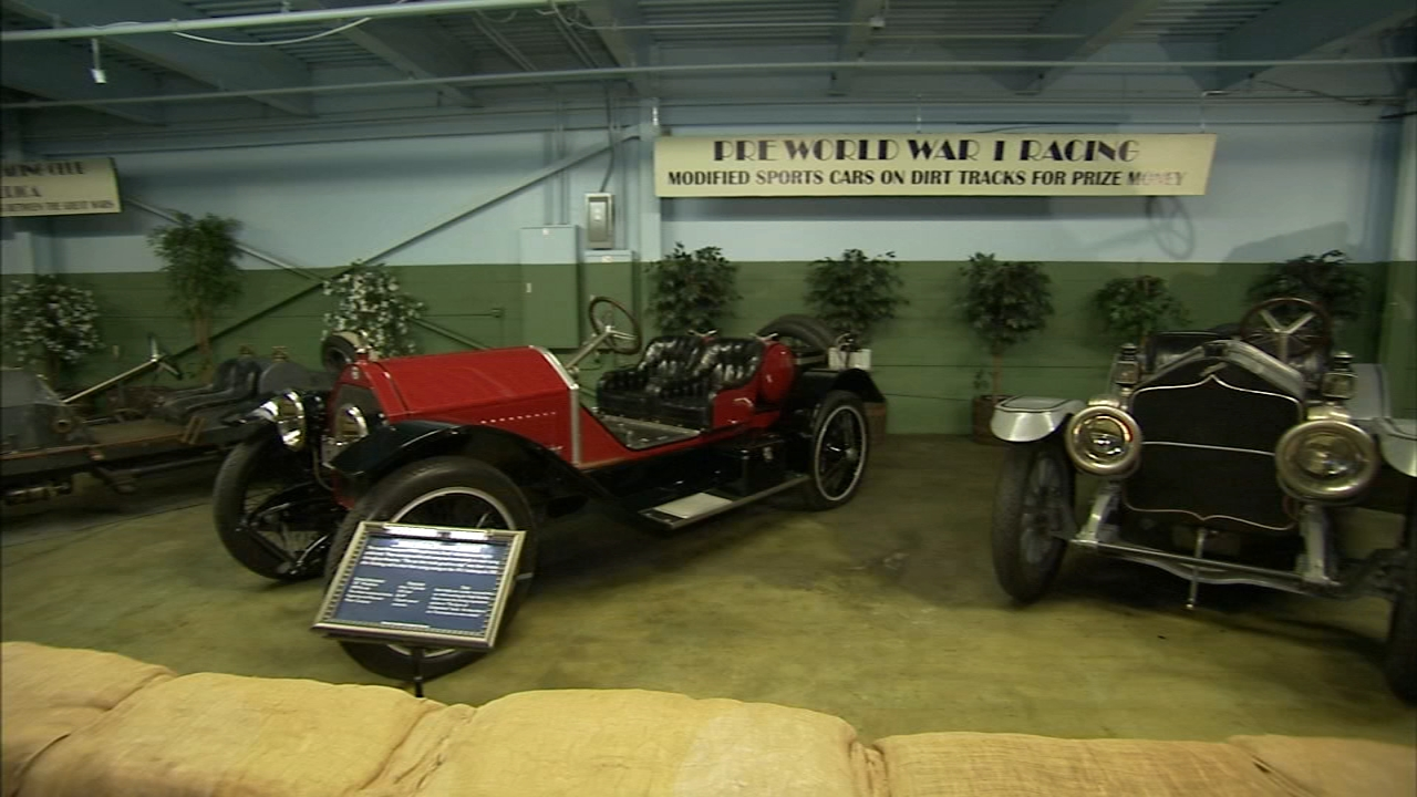 Art of Aging: Local mans collection of vintage sports cars - Tamala Edwards reports during Action News at noon on February 7, 2019.