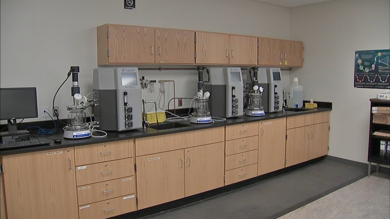 The Community College of Philadelphia debuted its renovated science labs as reported during Action News at 4 on February 7, 2019.