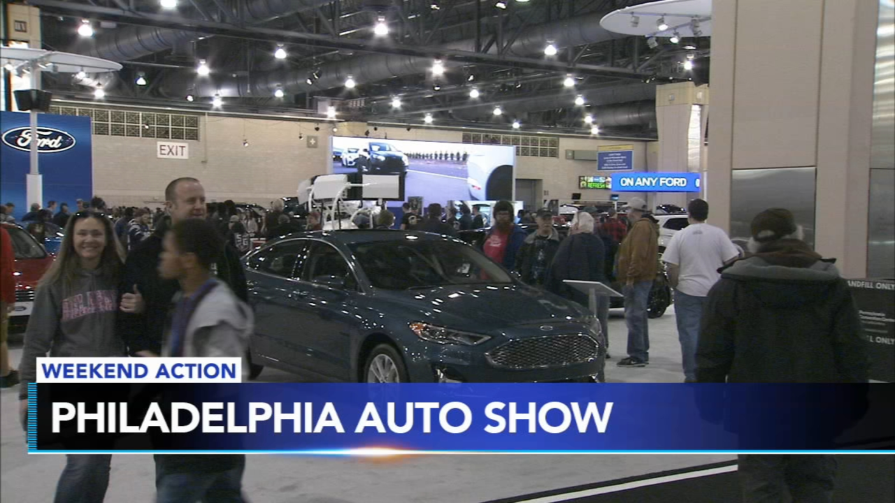 Its the final weekend for the Philly Auto Show. Plus, more cars on display in A.C. and a huge game for the Sixers.
