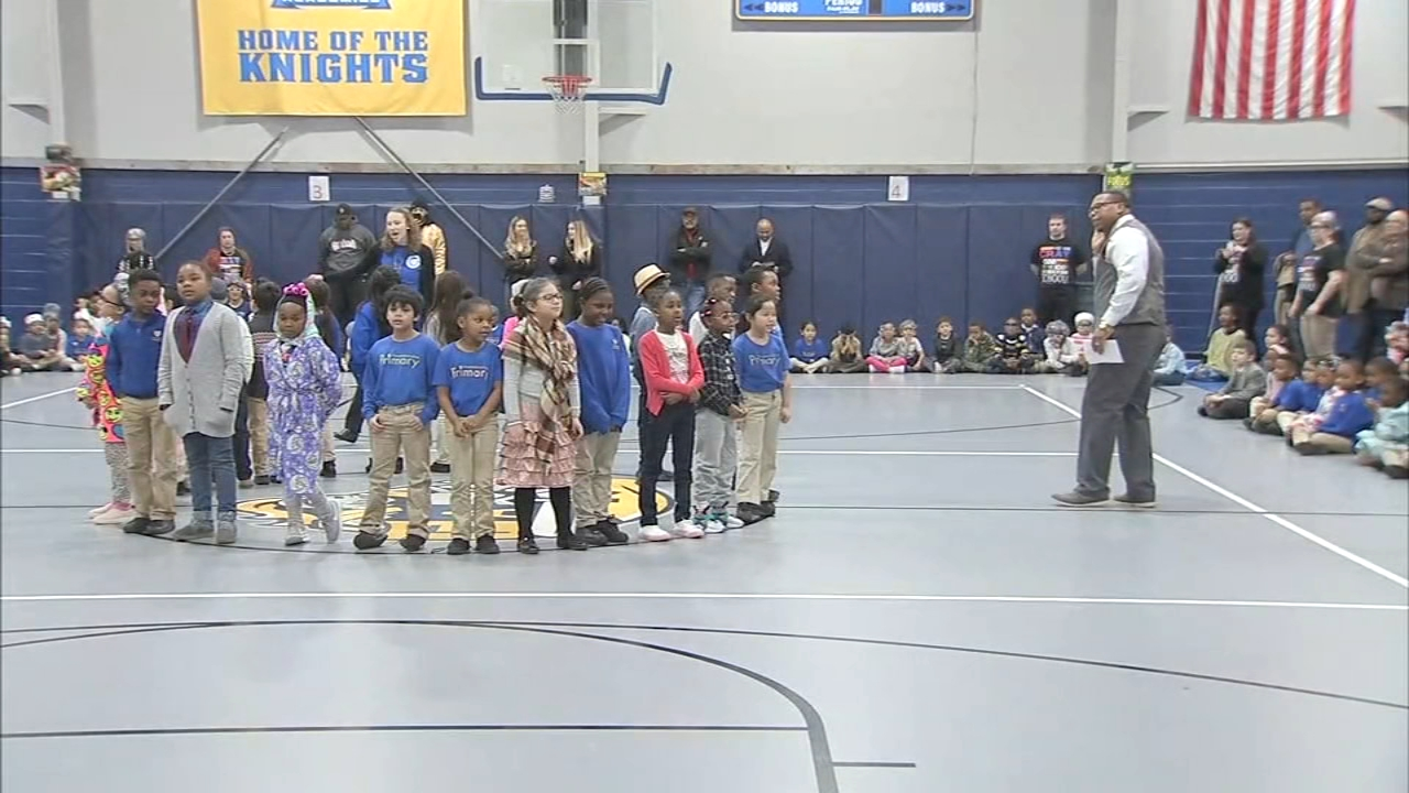 Students at the Trenton, N.J. school performed in front of friends and family as reported during Action News at 4 on February 8, 2019.