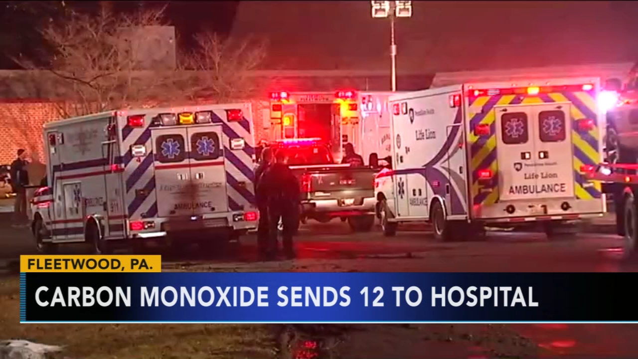 Berks Co. middle school closed due to carbon monoxide. Tamala Edwards reports during Action News Mornings on February 8, 2019.