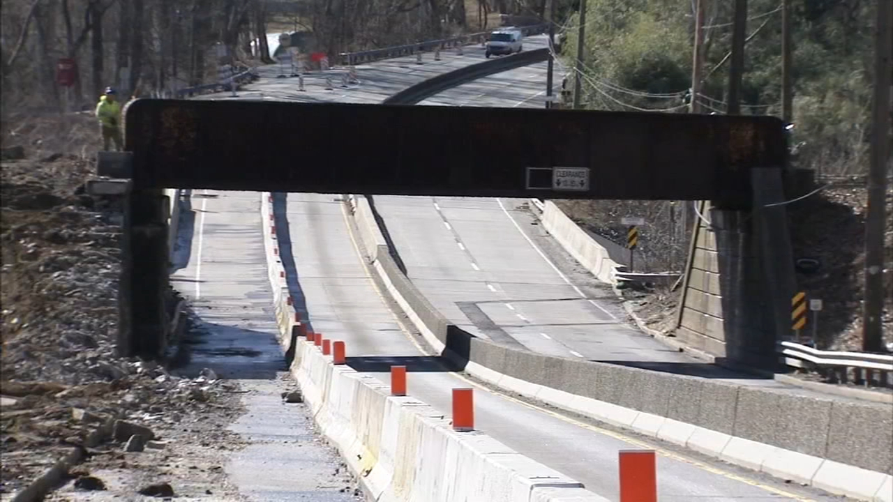 Part of Route 1 in Delaware County to close this weekend. John Rawlins reports during Action News at 4pm on February 8, 2019.