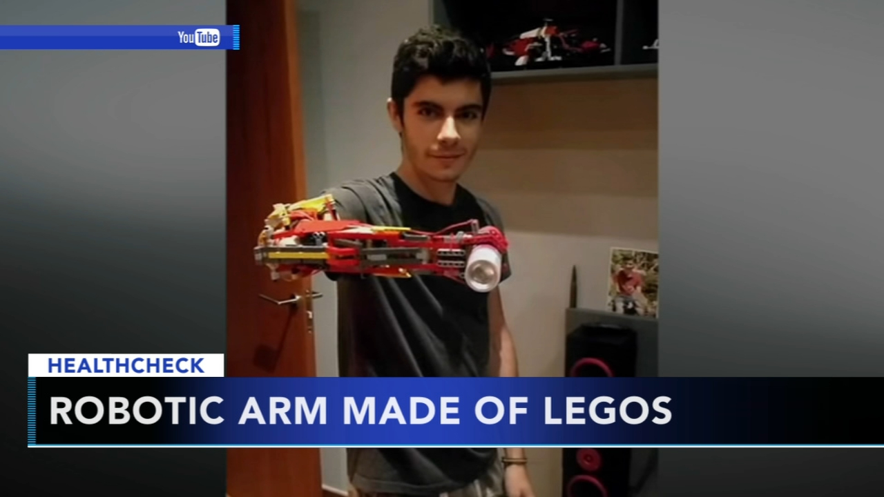 Teenager creates prosthetic arm made from Legos: Ali Gorman reports during Action News at 5pm on February 8, 2019.