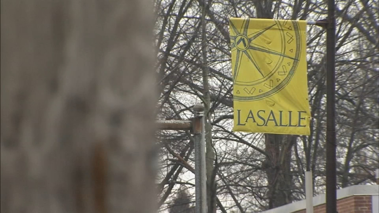 La Salle University community on alert after recent robberies. Bob Brooks reports during Action News at 4pm on February 8, 2019.
