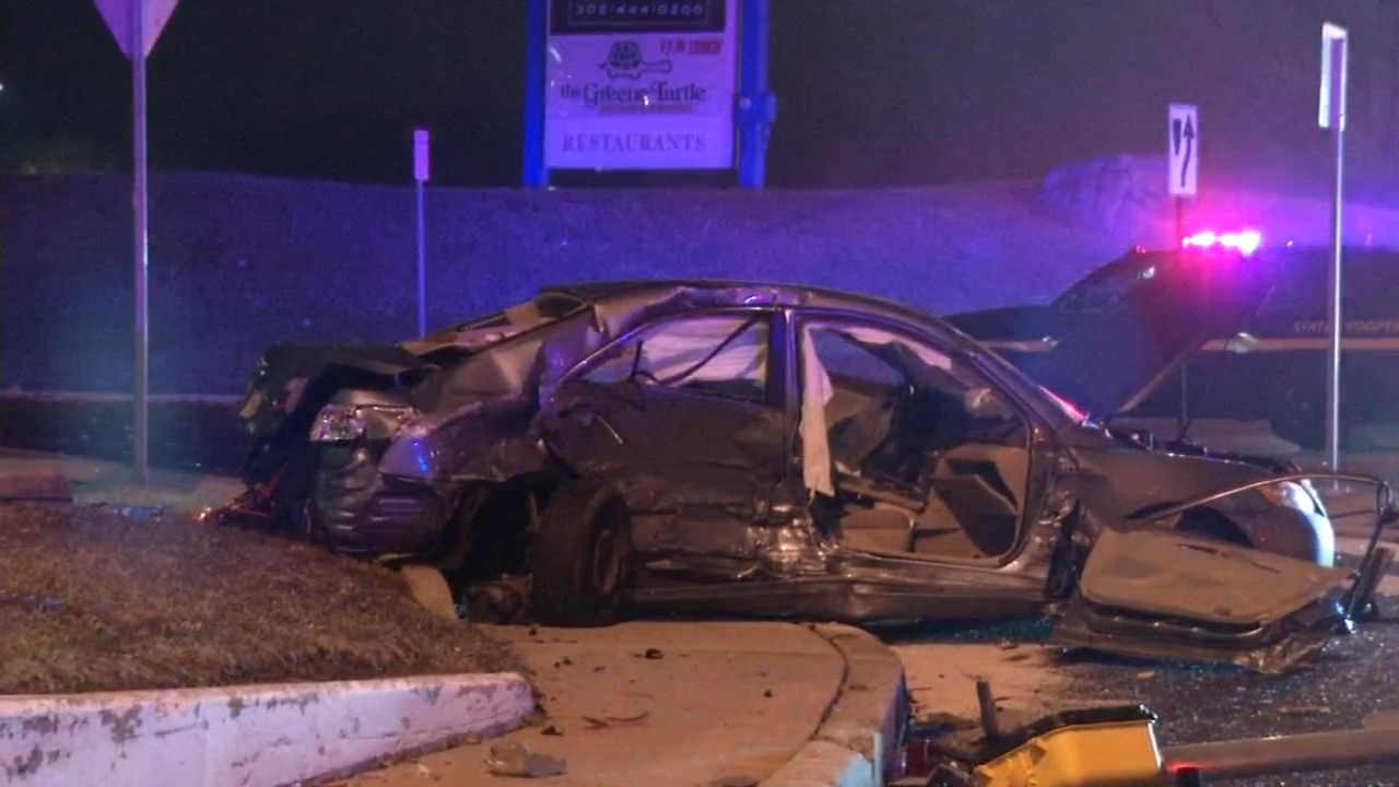 5 injured in Talleyville multi-vehicle crash. Tamala Edwards reports during Action News Mornings on February 8, 2019.