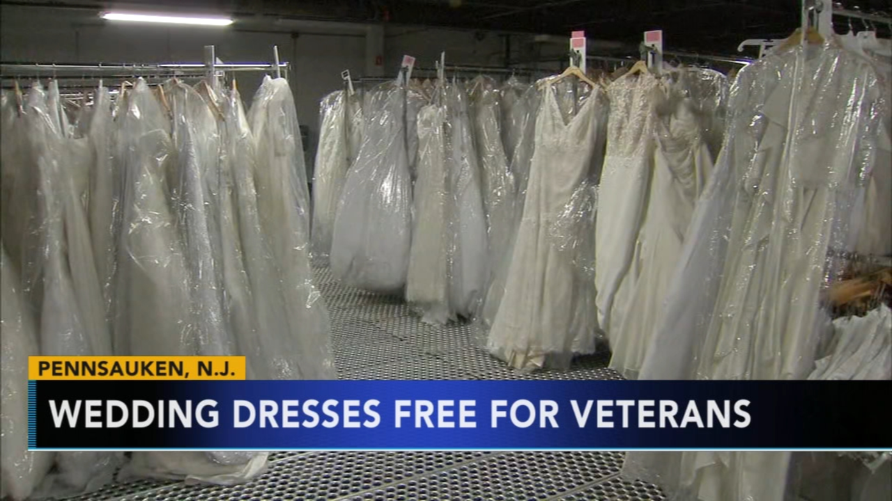 Camden County donates hundreds of wedding dresses to veteran families: Alicia Vitarelli reports during Action News at 4pm on February 8, 2019.