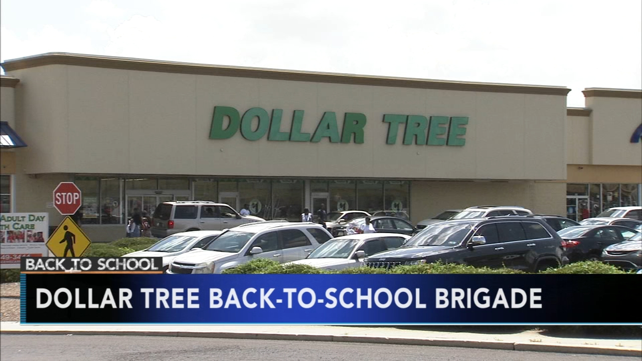 Dollar Tree to give away school supplies to military families. Alicia Vitarelli reports during Action News at 4:30 a.m. on August 10, 2018.