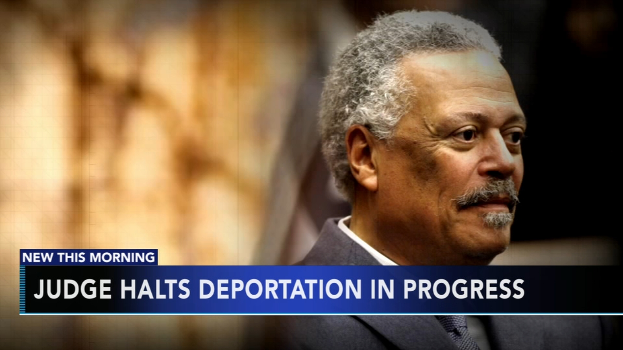 Federal judge halts deportation in progress. Alicia Vitarelli reports during Action News at 5 a.m. on August 10, 2018.