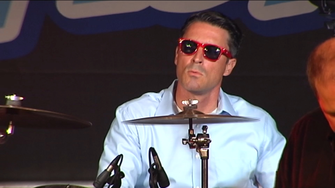 Matt ODonnell gives surprise performance at Musikfest. Walter Perez reports during Action News at 10 p.m. on August 10, 2018.