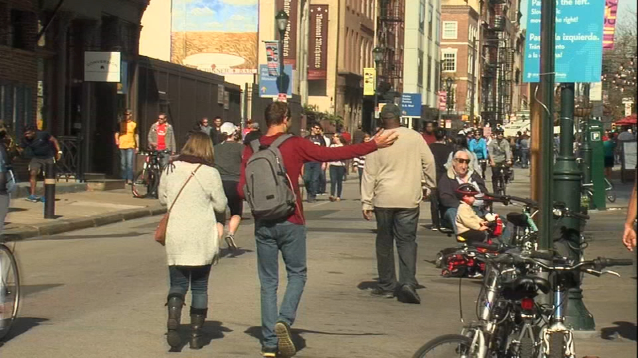 Philly Free Streets returns this weekend. Watch the report from Gray Hall on Action News at 4:30 p.m. on August 10, 2018.