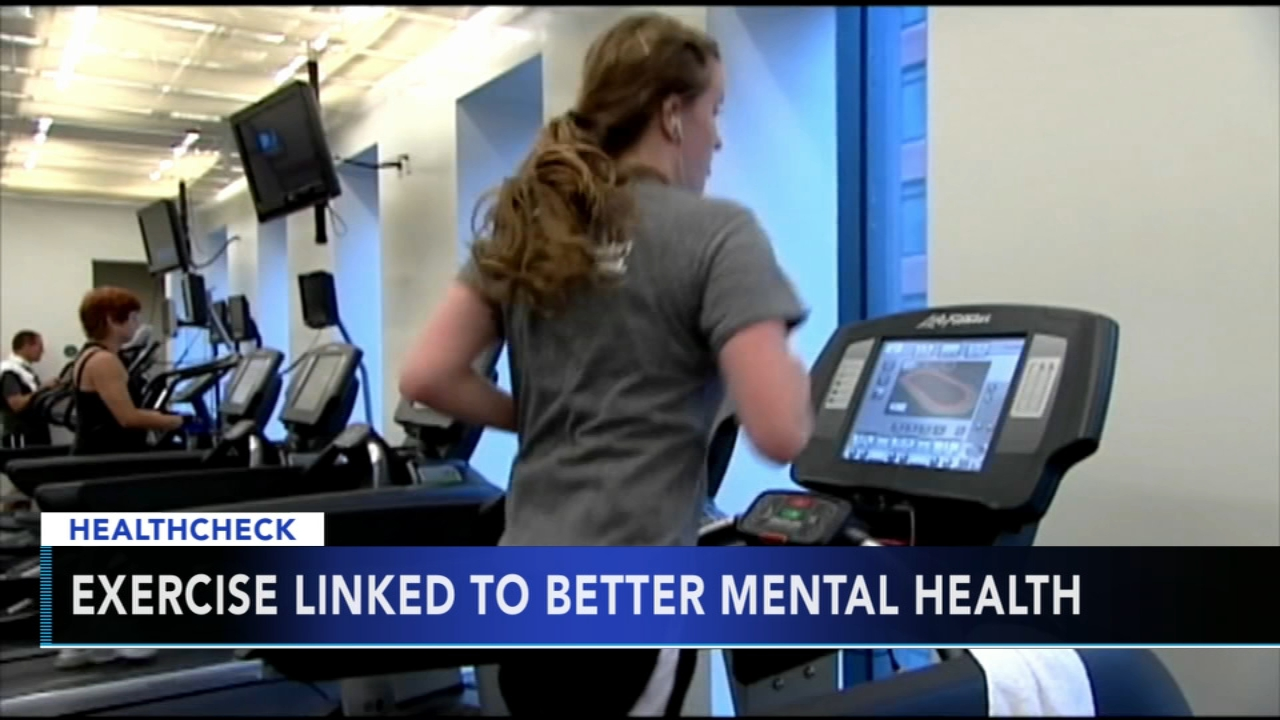 Study finds those who exercise have better mental health. Gray Hall reports during Action News at 7 a.m. on August 11, 2018.