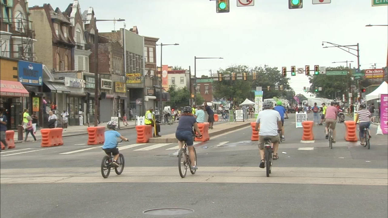 Philly Free Streets, a fun day for families on Broad Street. Bob Brooks reports during Action News at 5:30 p.m. on August 11, 2018.