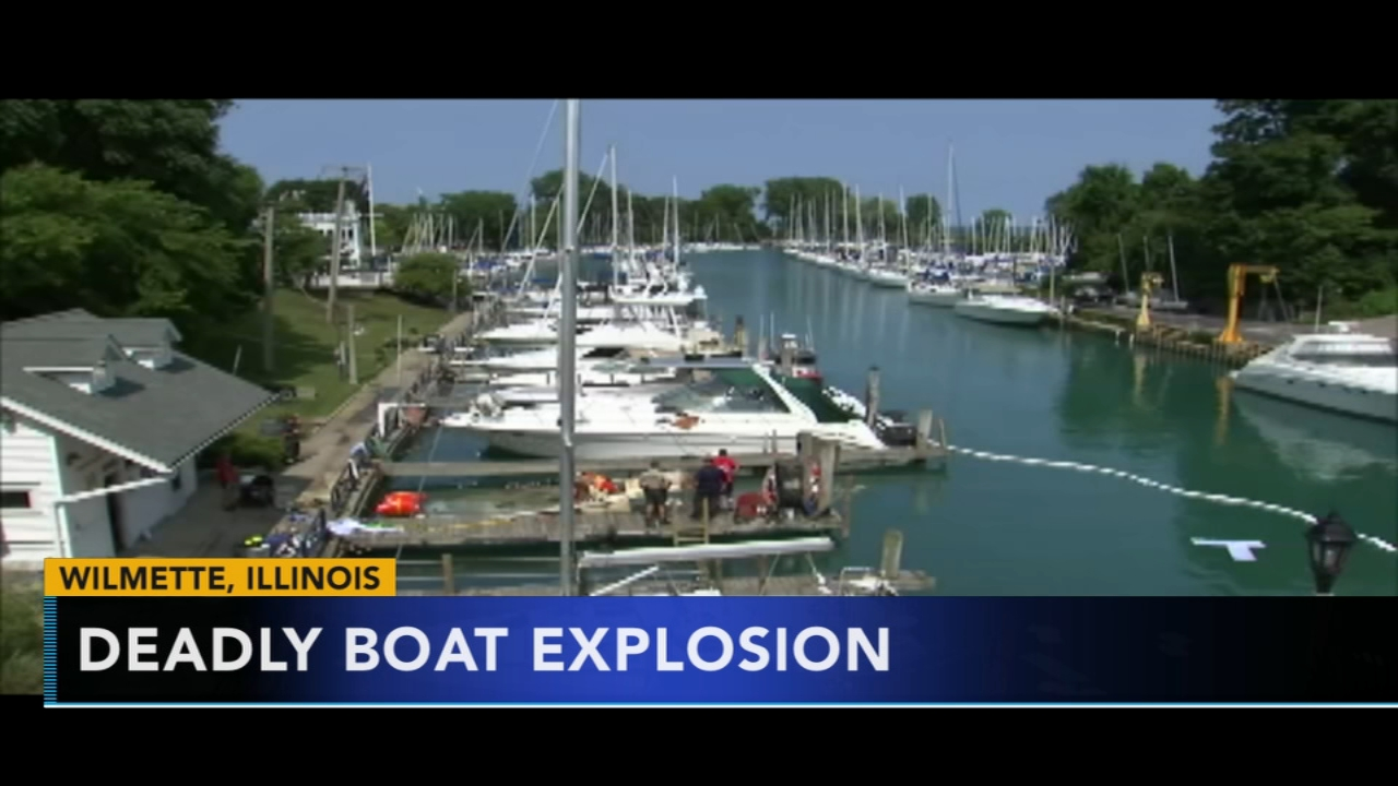 Investigators look for cause in Illinois deadly boat explosion. Jeannette Reyes reports during Action News at 9 a.m. on August 12, 2018.