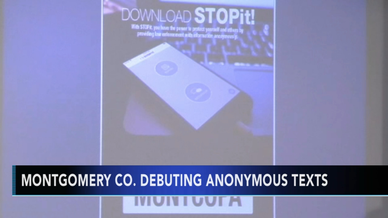 Montgomery County rolls out anonymous tip line mobile app. Gray Hall reports during Action News at 7 a.m. on August 12, 2018.