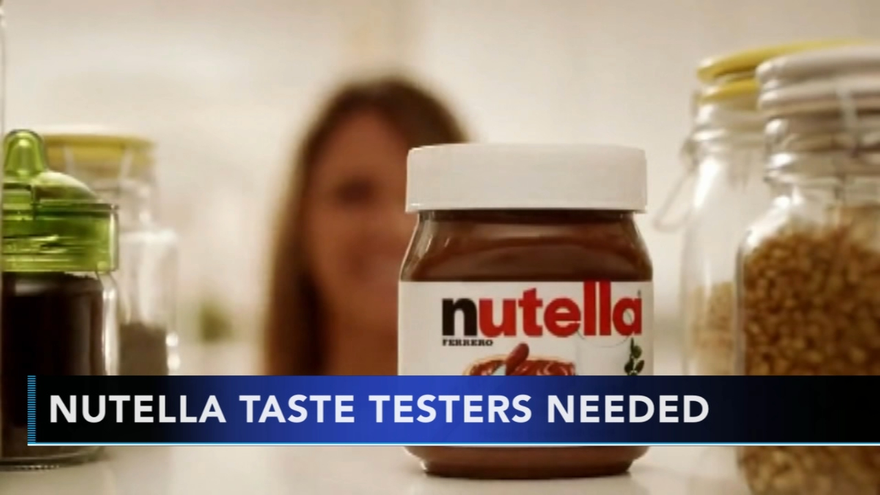 Nutella looking for part-time taste tester employees. Gray Hall reports during Action News at 10 a.m. on August 12, 2018.