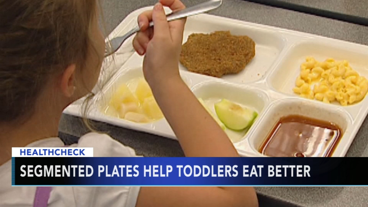 Segmented, colored plates help children to eat more vegetables. Jeannette Reyes reports during Action News at 9 a.m. on August 12, 2018.