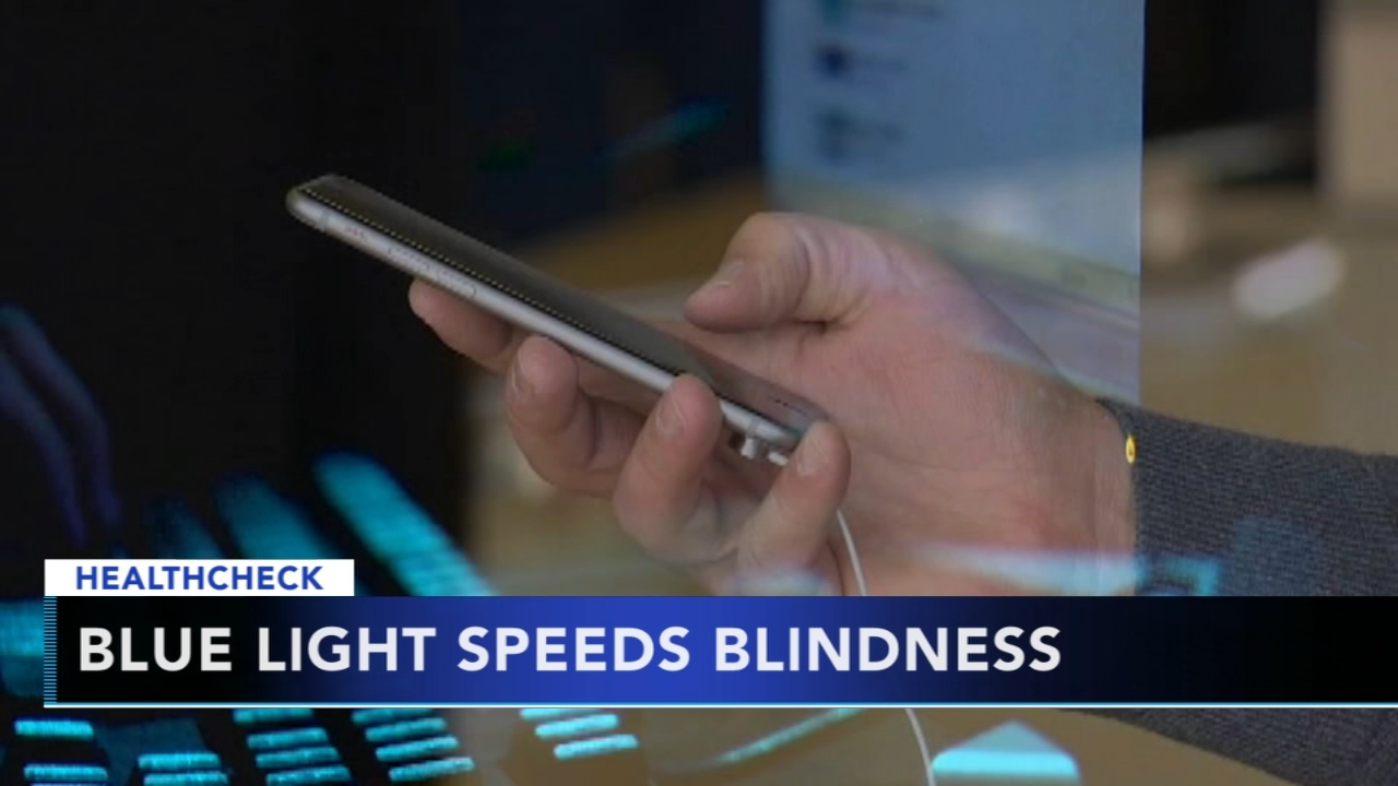 Researchers: Blue light speeds blindness. Tamala Edwards reports during Action News Mornings on August 13, 2018.