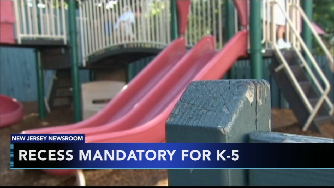 NJ enacts law requiring recess for students in grades K-5. Matt ODonnell reports during Action News Mornings on August 13, 2018.