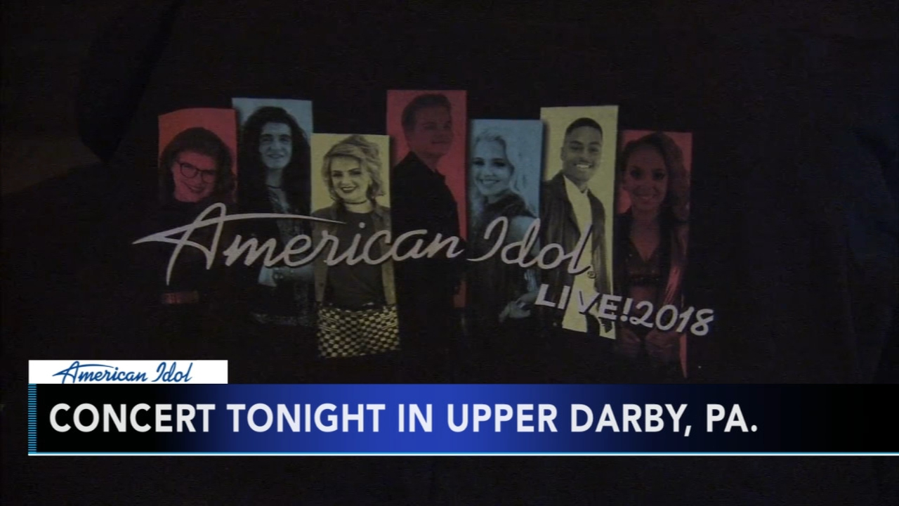 Local American Idol contestants return home for concert in Upper Darby: Alicia Vitarelli reports during Action News at 4:30pm on August 14, 2018.