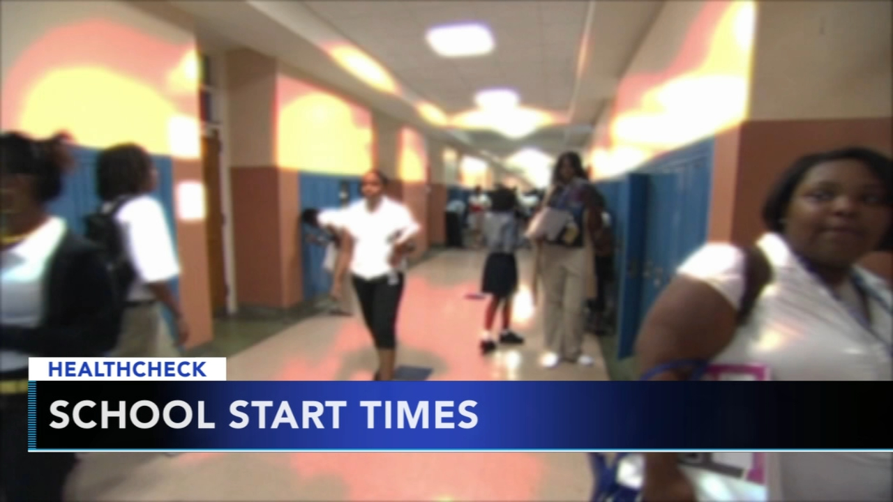 Early school start times are bad for childrens health, study says - Sarah Bloomquist reports during Action News at noon on August 14, 2018.