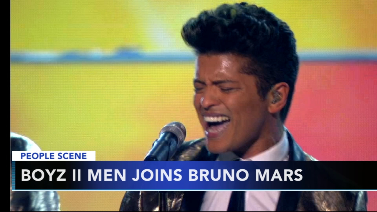 Boyz II Men joining Bruno Mars on tour after Cardi B dropped out: Rick Williams reports during Action News at noon on August 15, 2018.