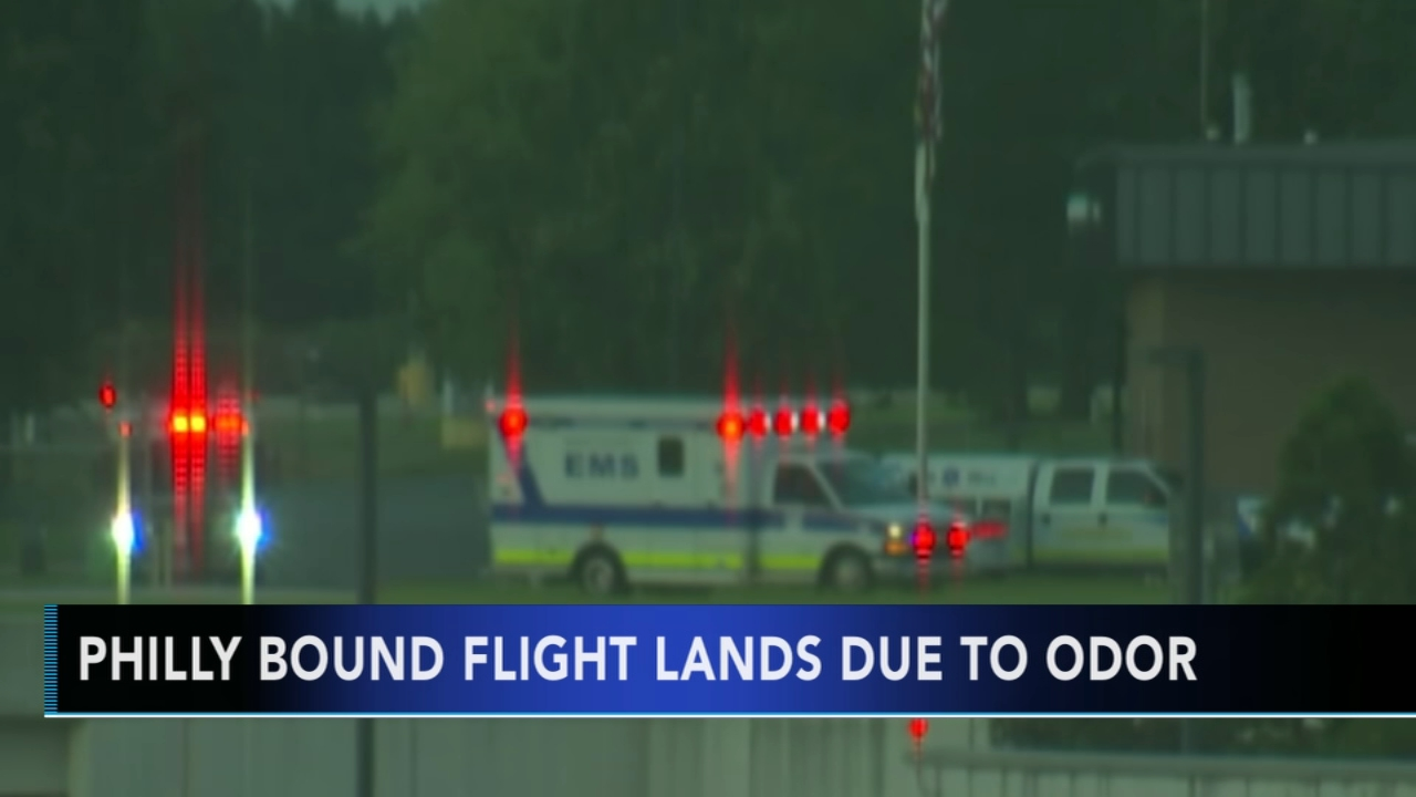 Frontier Airlines flight diverted because of unknown odor in cabin as reported during Action News at 10 on August 15, 2018.