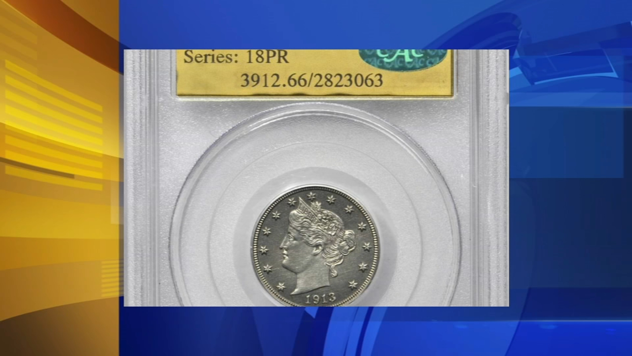 Rare nickel to be auctioned. Tamala Edwards reports during Action News Mornings on August 15, 2018.