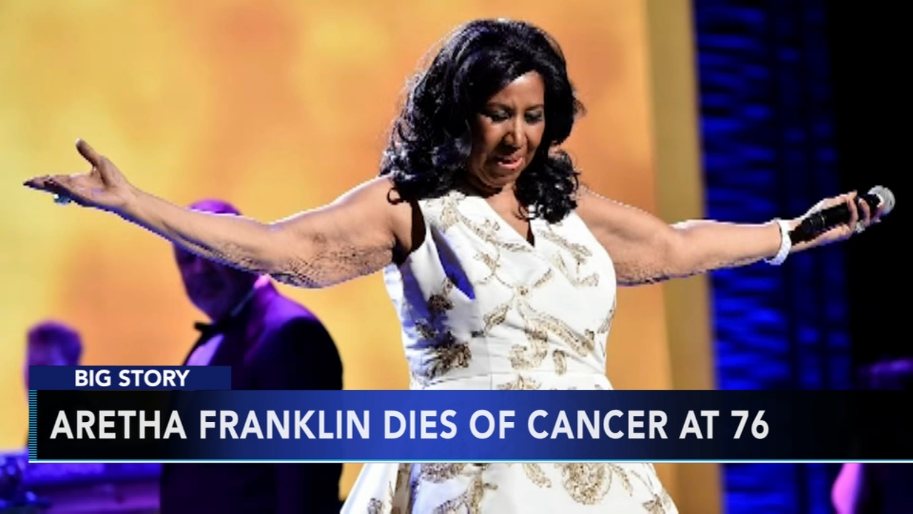 Aretha Franklin dies of Cancer at 76: Christie Ileto reports on Action News at 11 p.m., August 16, 2018