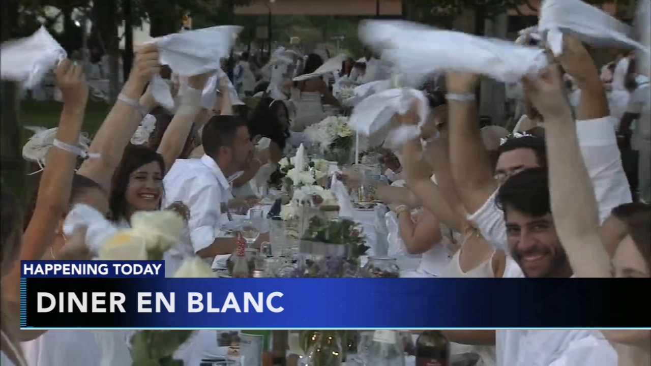 Diner en Blanc to pop up somewhere in Philly. Matt ODonnell reports during Action News Mornings on August 16, 2018.