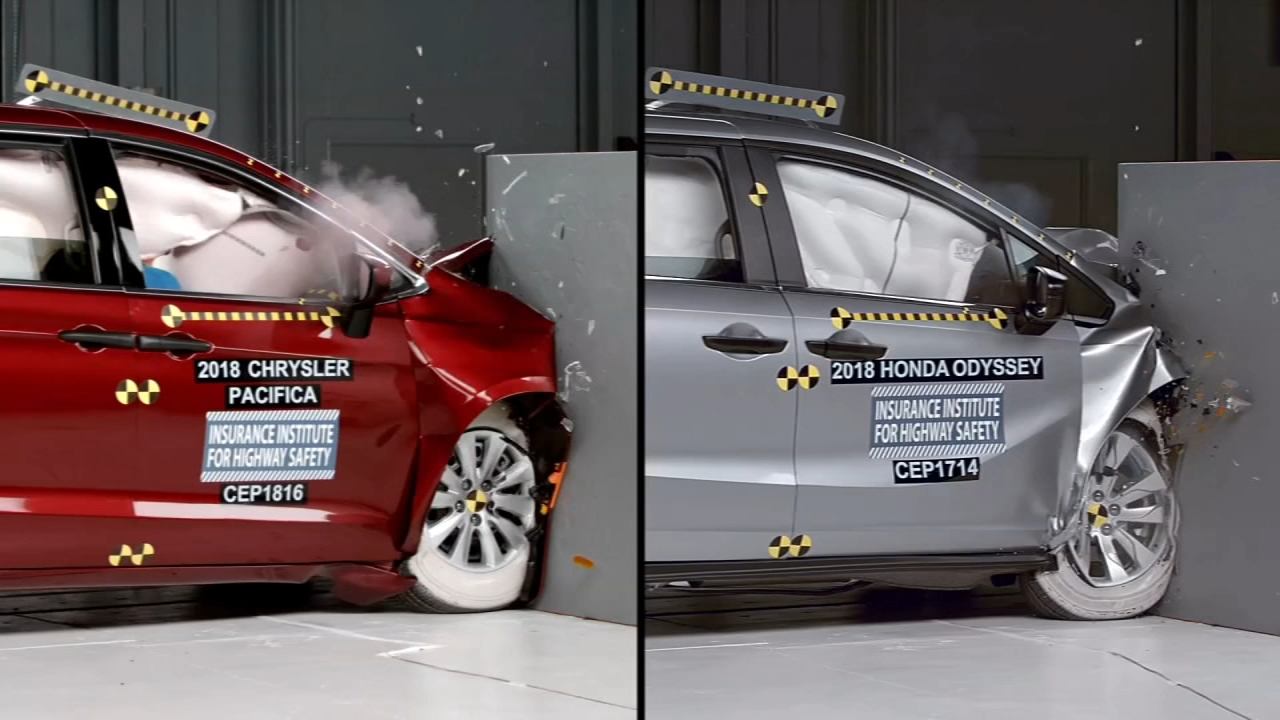 IIHS safety ratings on 2018 minivans. Tamala Edwards reports during Action News Mornings on August 16, 2018.