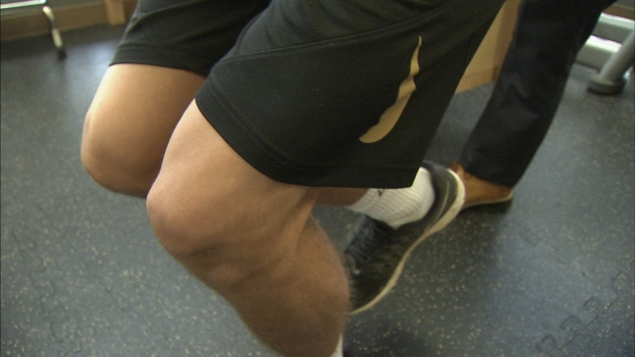 Preventing ACL Injuries in Young Athletes: Ali Gorman reports during Action News at 5pm in August 17, 2018.