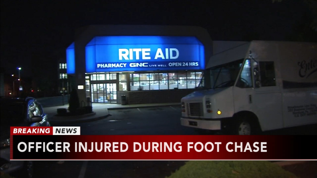 Officer injured in struggle with suspected Rite Aid thief. Katherine Scott reports during Action News Mornings on August 17, 2018.
