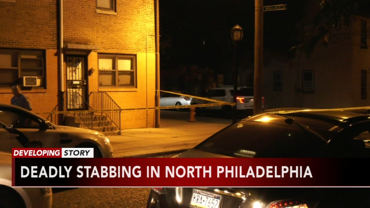 Man dead after being stabbed in North Philadelphia apartment building. Gray Hall reports during Action News at 6 a.m. on August 18, 2018.