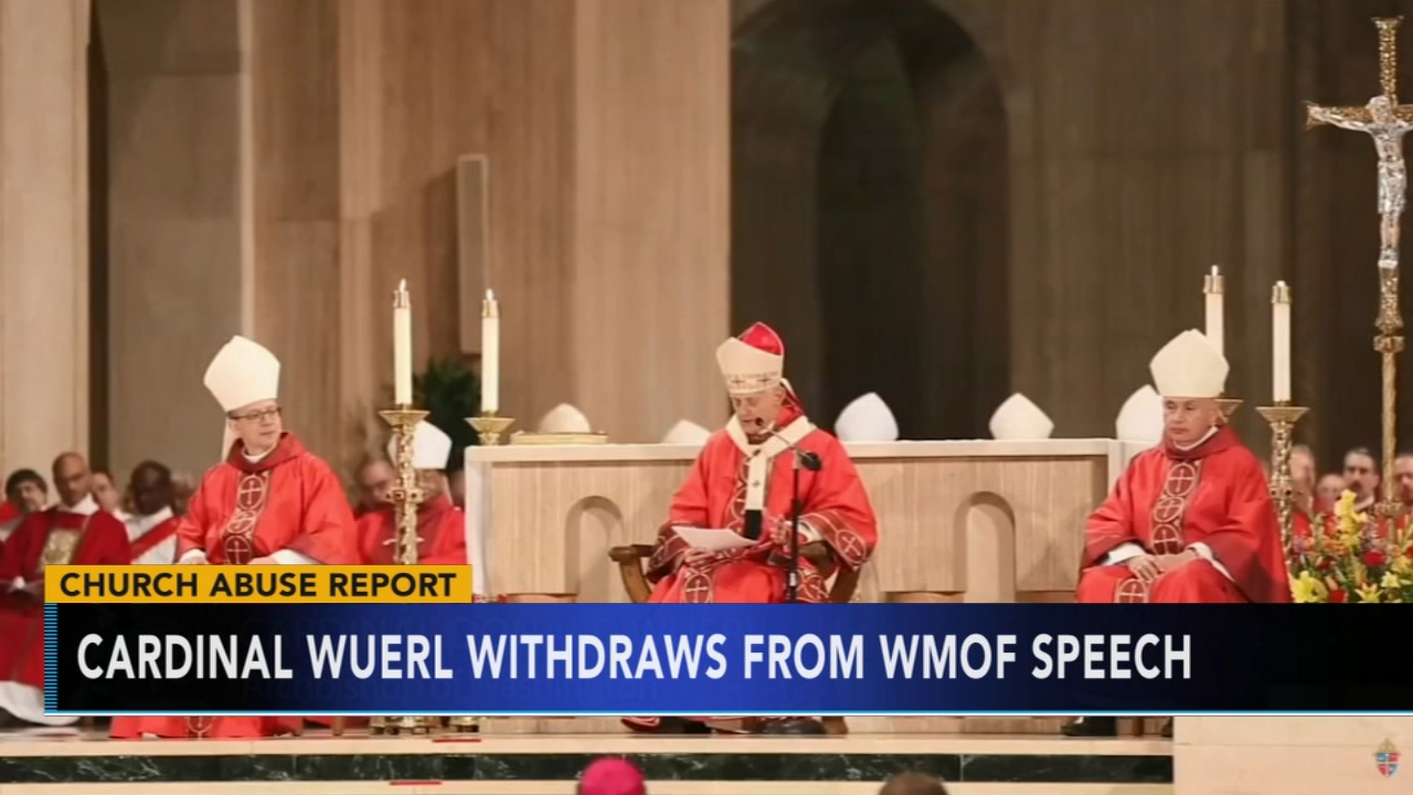 Cardinal Wuerl withdraws from World Meeting of Families speech. Nydia Han reports during Action News at 6 a.m. on August 19, 2018.
