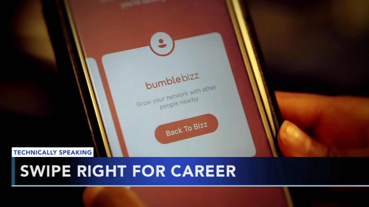 People turning to dating apps to help them land their dream job. Nydia Han reports during Action News at 9 a.m. on August 19, 2018.
