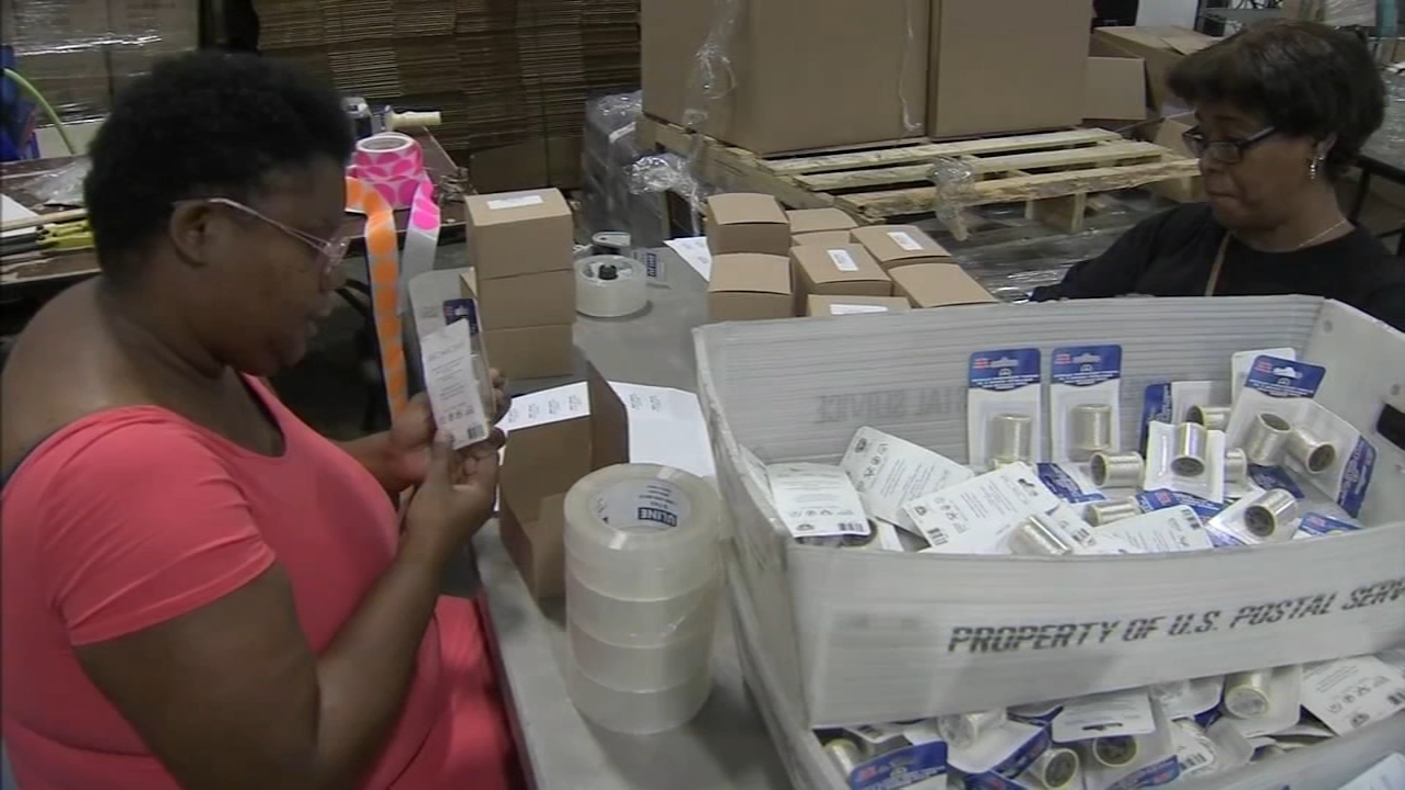 Occupational Training Center in Burlington Township gives those with disabilities a chance to be independent. Karen Rogers reports during Action News at 6 a.m. on August 19, 2018.